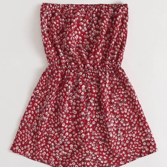 Shein Floral Tube Romper